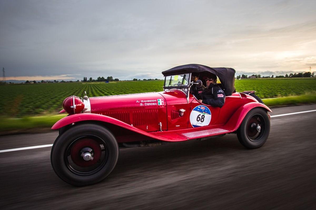 Alfa Romeo regina della Mille Miglia