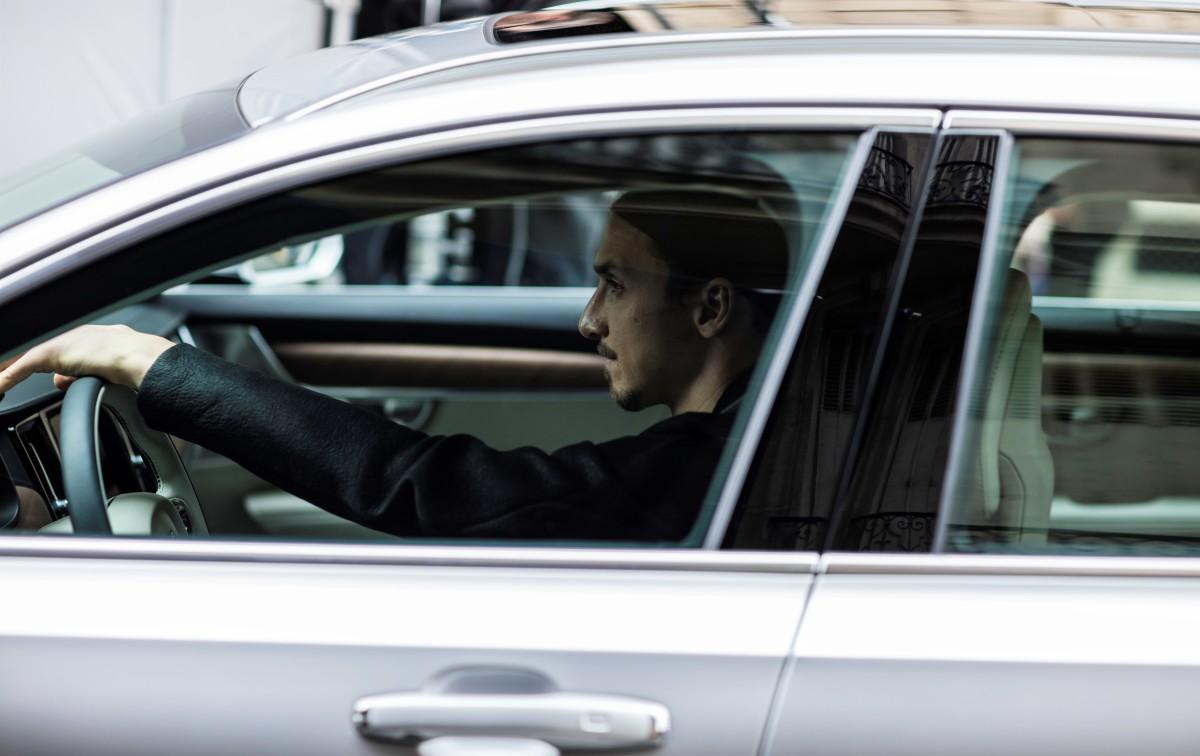 Zlatan Ibrahimović per Volvo V90