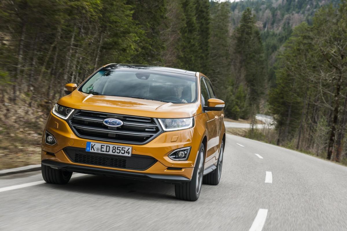 Nuova Ford Edge: la famiglia SUV è completa