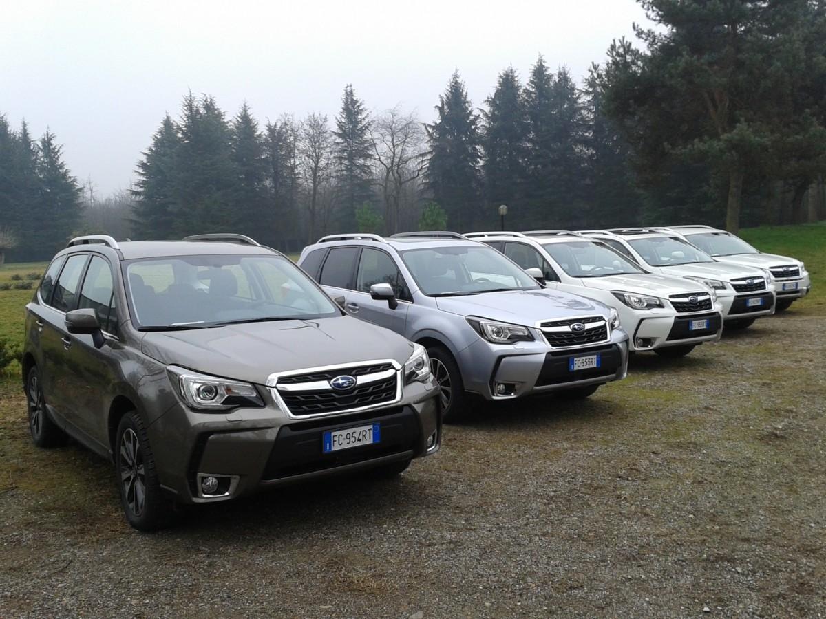 Subaru Advanced Driver Assist System