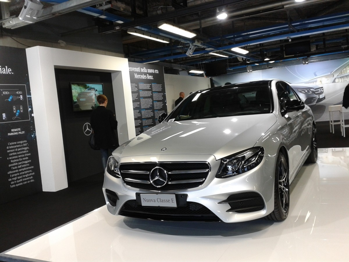 Mercedes Nuova Classe E: intelligenza non artificiale