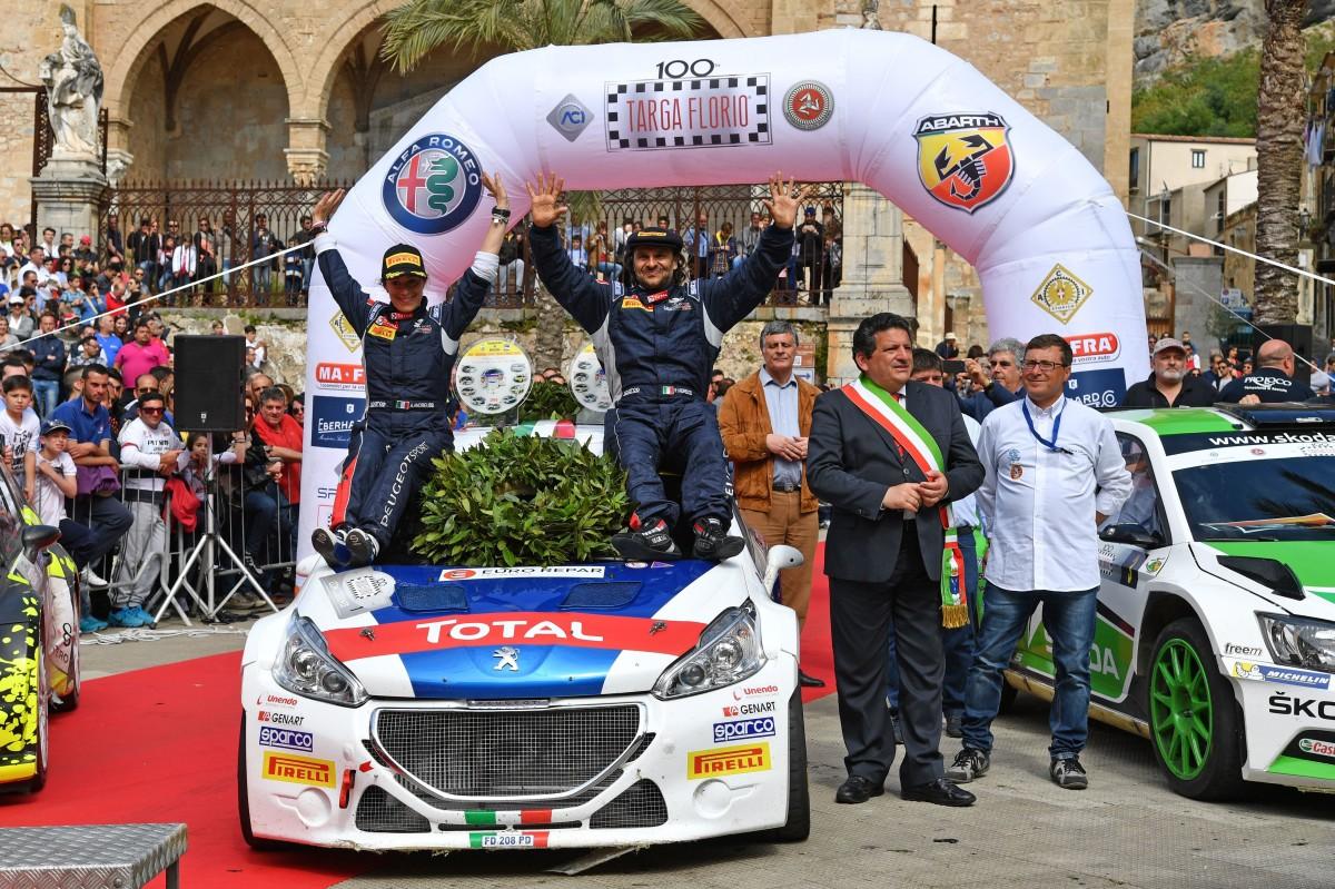 A Andreucci-Andreussi e Peugeot la 100° Targa Florio