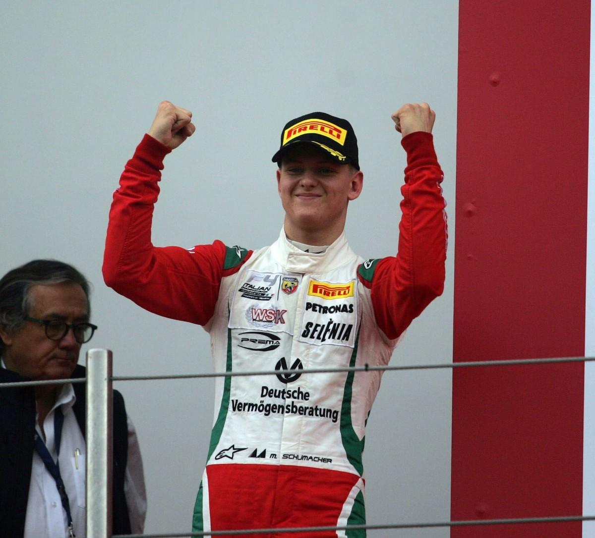 F4: Mick Schumacher vince Gara 2 a Imola