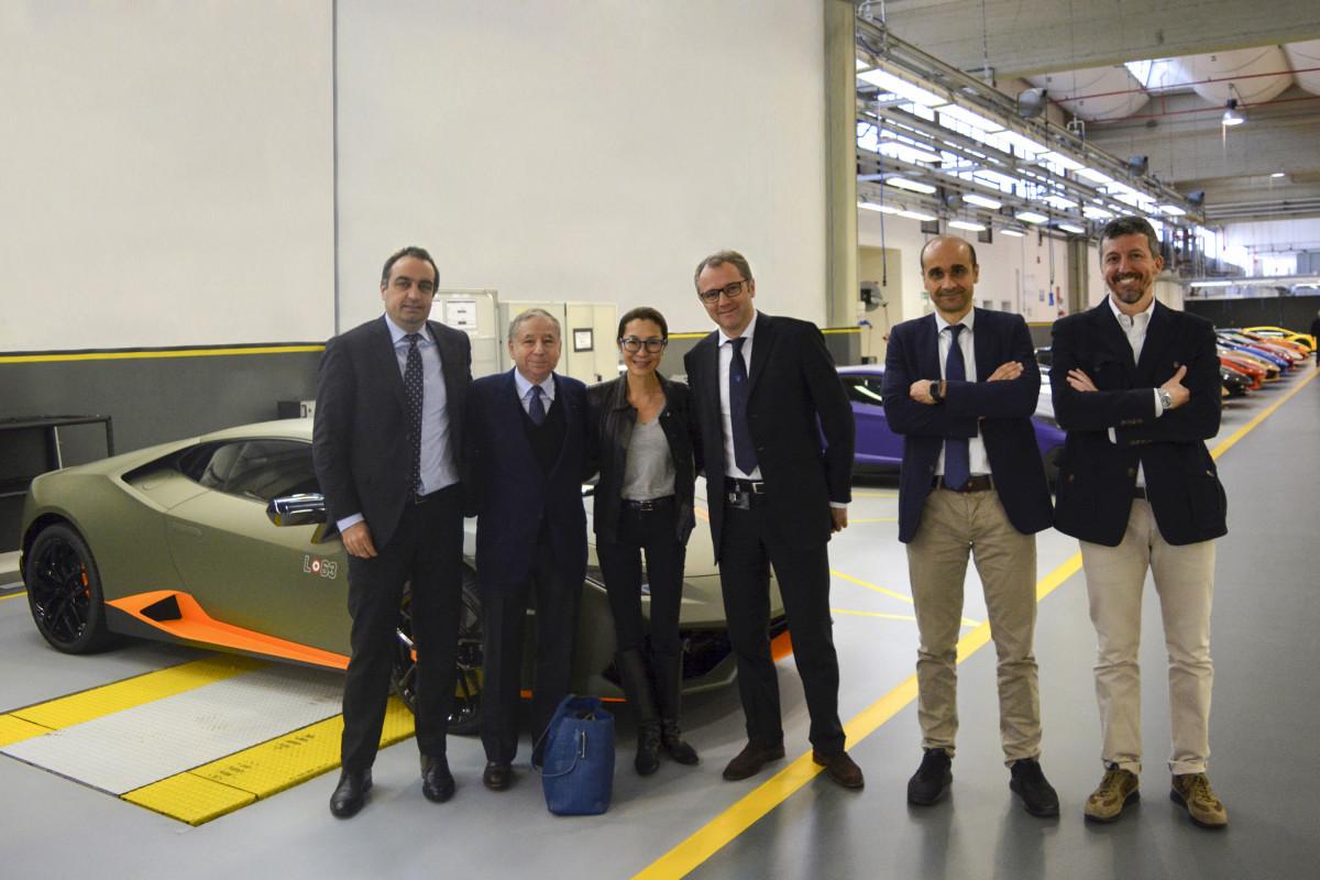 Lamborghini: un ospite speciale per Domenicali