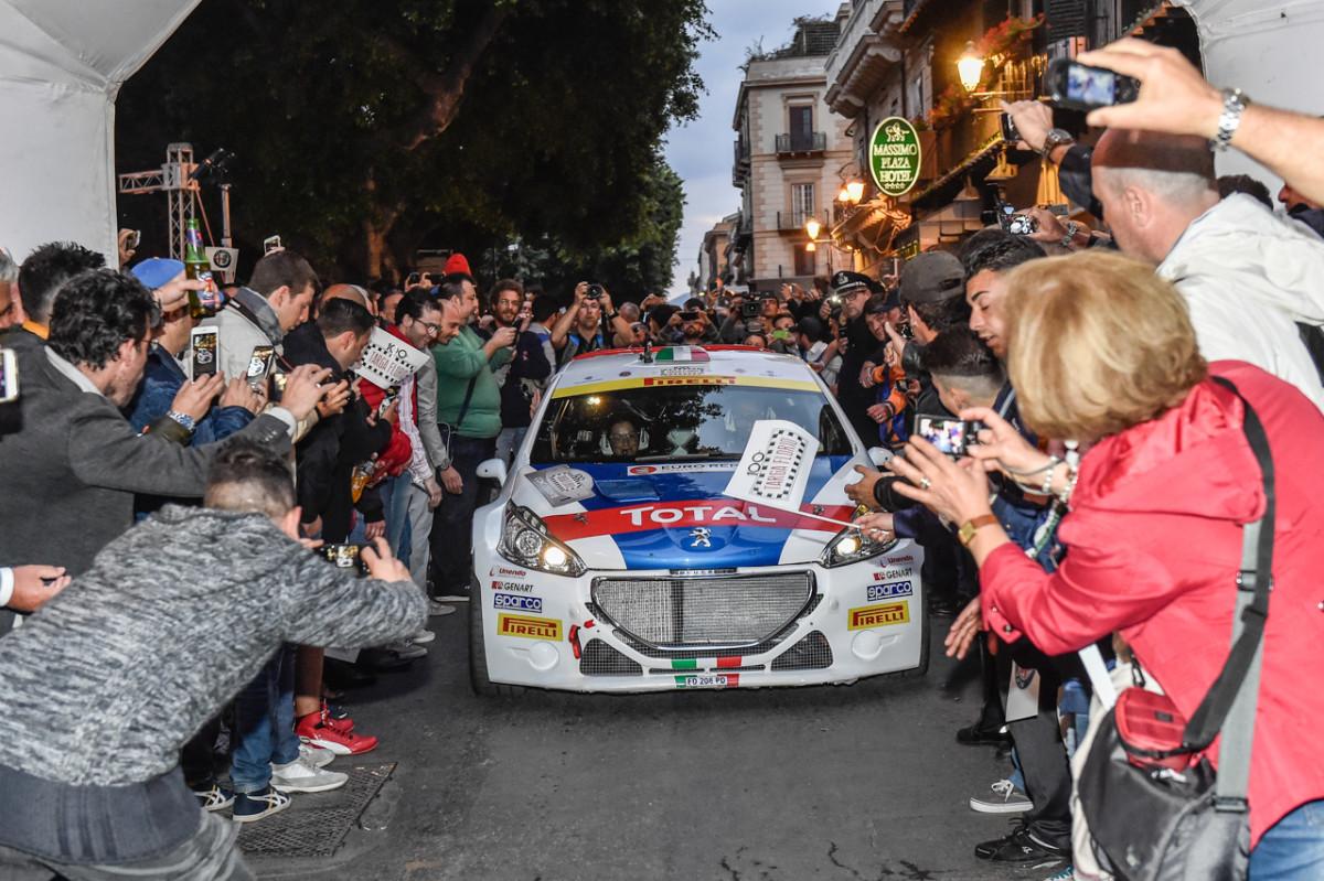 Targa Florio: per Peugeot emozioni nella Tappa 1