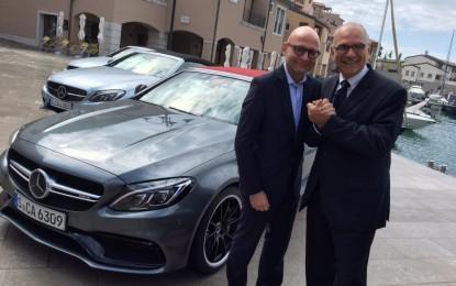 Mercedes-Benz Italia: novità per Lanzoni e Blasetti