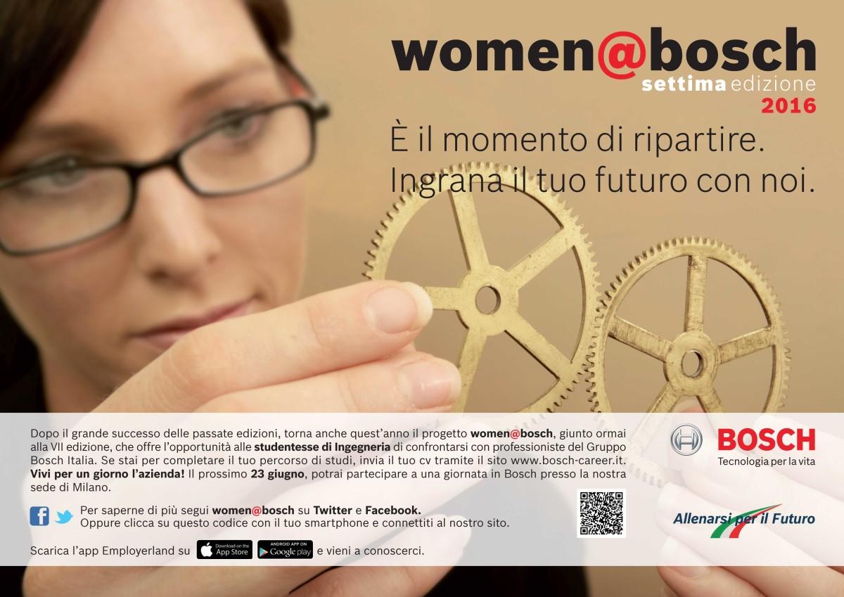 Bosch per le donne ingegneri di domani
