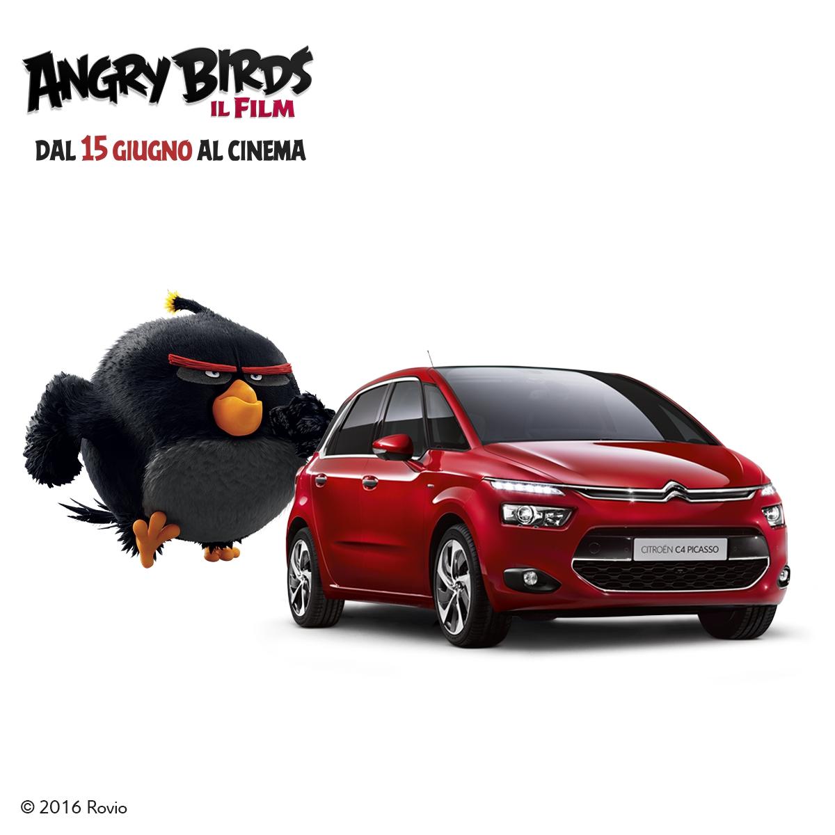 Gli Angry Birds arrivano in Citroën