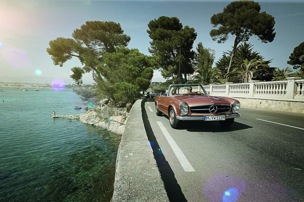 Classic Car Travel: in viaggio con le 'oldtimer' della Stella