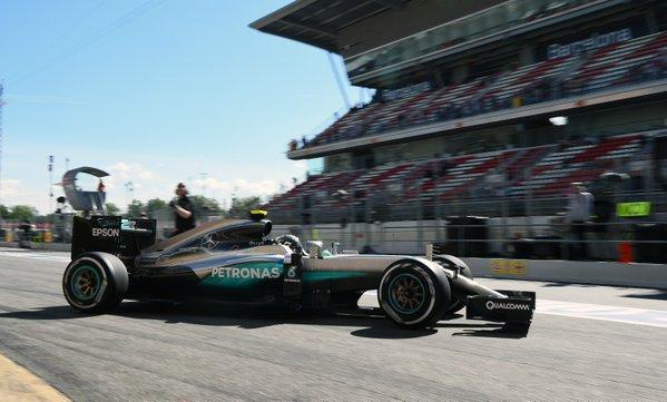 GP Spagna: Mercedes e Rosberg davanti nelle FP2