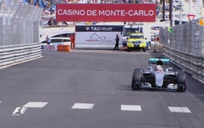 GP Monaco: FP1 a Lewis Hamilton