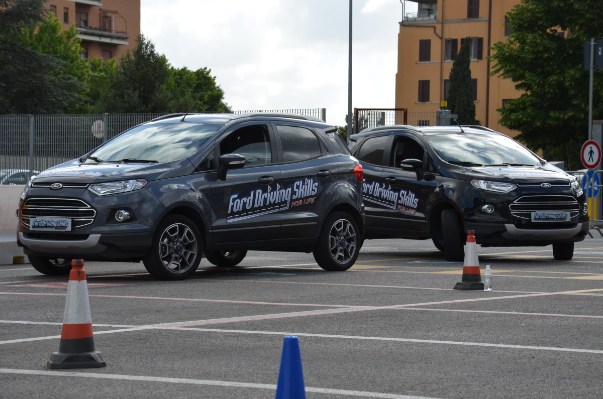 Ford Driving Skills For Life: successo a Roma