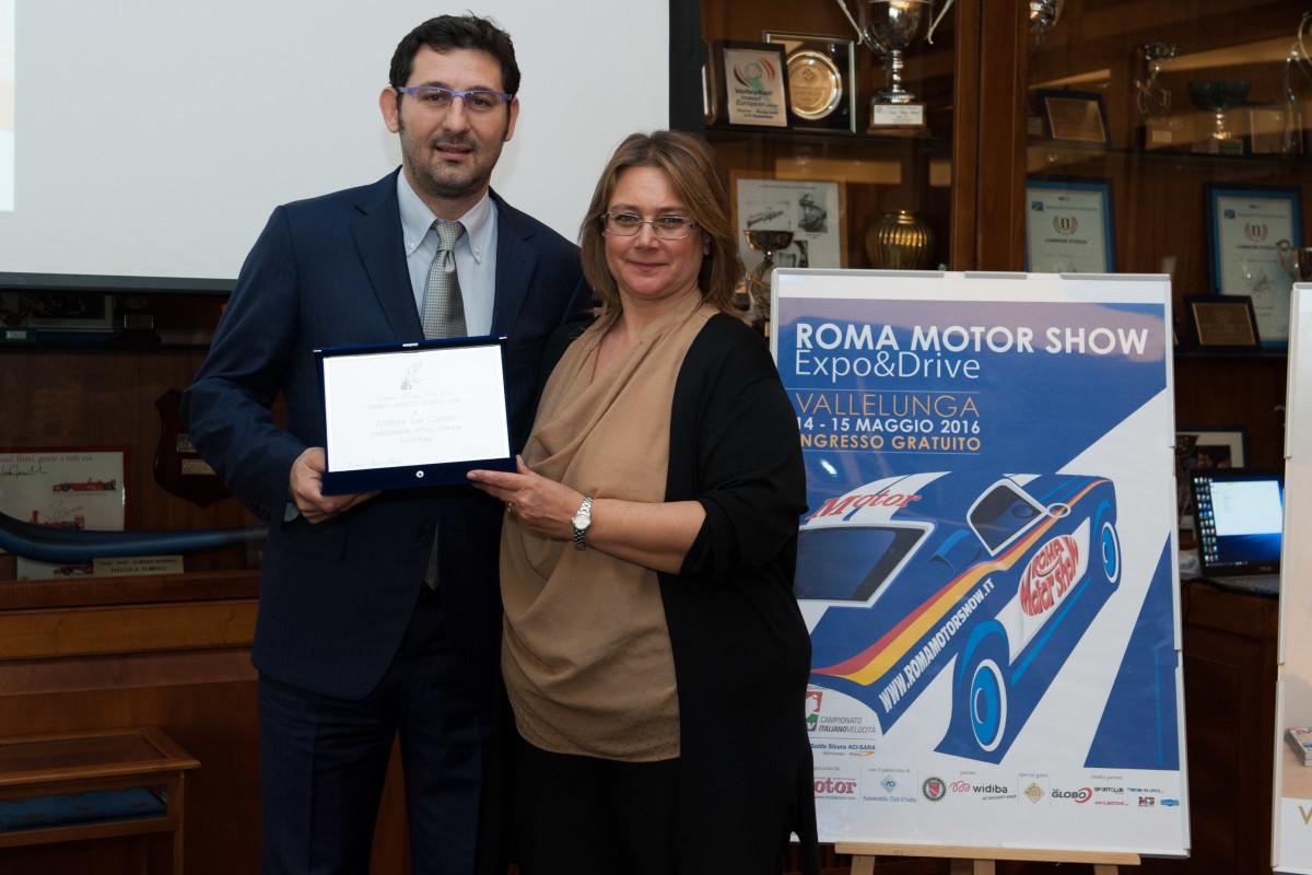Motor Award 2016 ad Andrea Del Campo