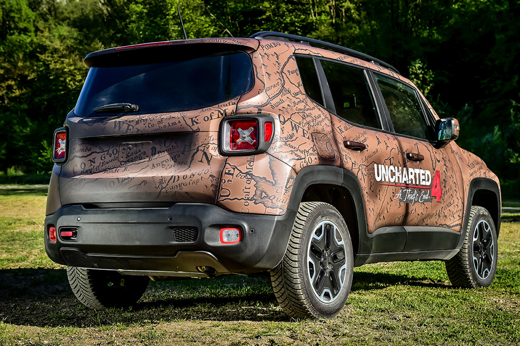 Renegade Uncharted Edition by Garage Italia Customs