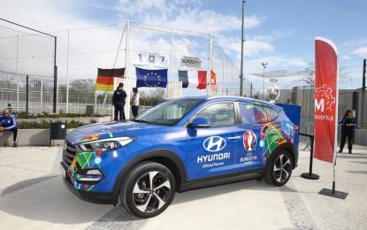 La Coppa di Euro 2016 a bordo di Hyundai Tucson