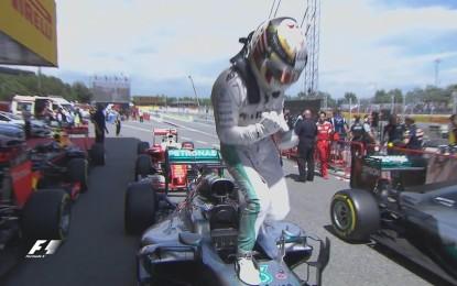GP Spagna: pole di Hamilton, e grande Verstappen!