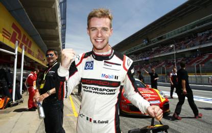 Porsche Supercup: Matteo Cairoli on pole