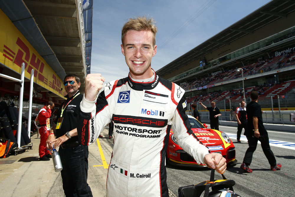 Porsche Supercup: Matteo Cairoli on pole