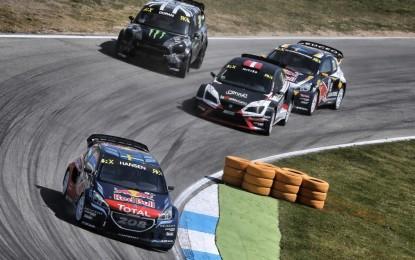 Rallycross: 2° posto di Sébastien Loeb