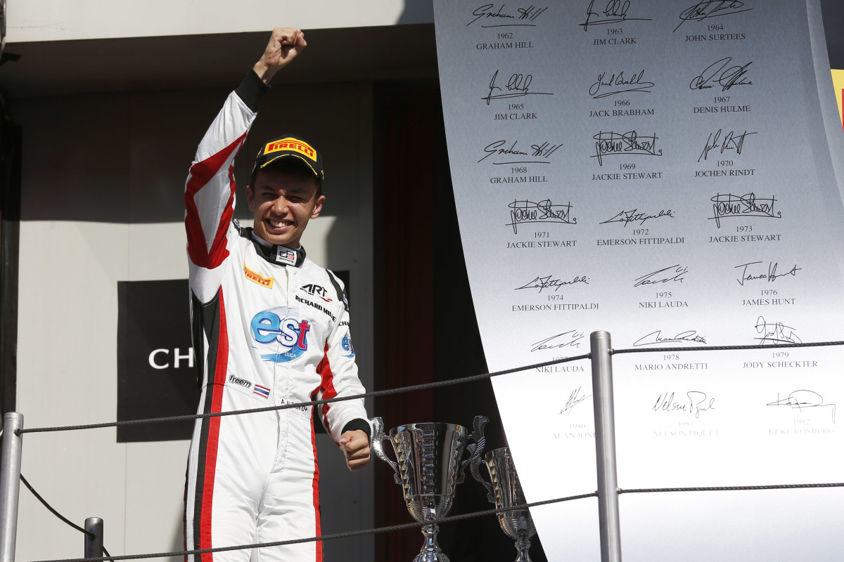 GP3: Albon achieves first win in Barcelona Race 2