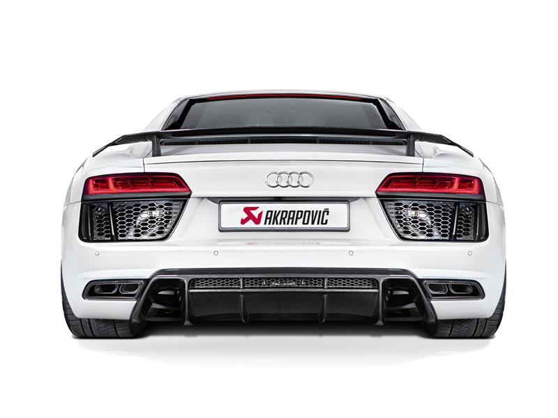 Akrapovič per Audi R8