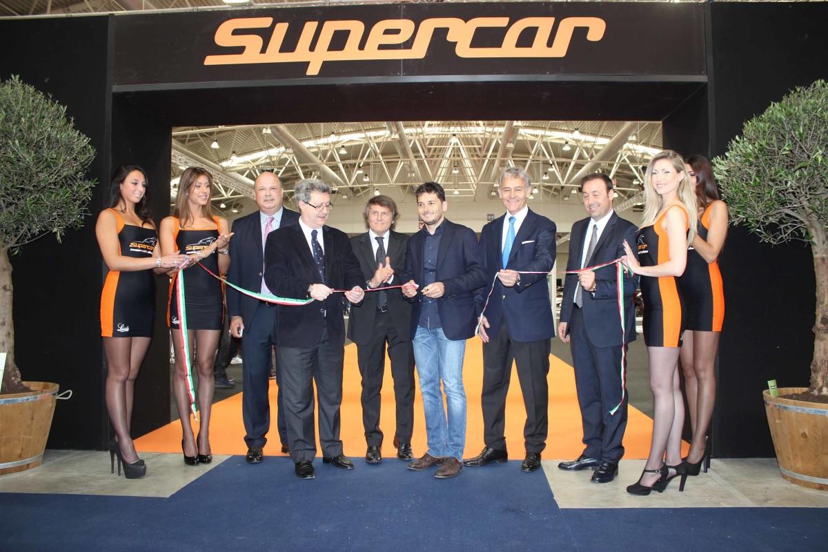 Via a Supercar-Roma Auto Show