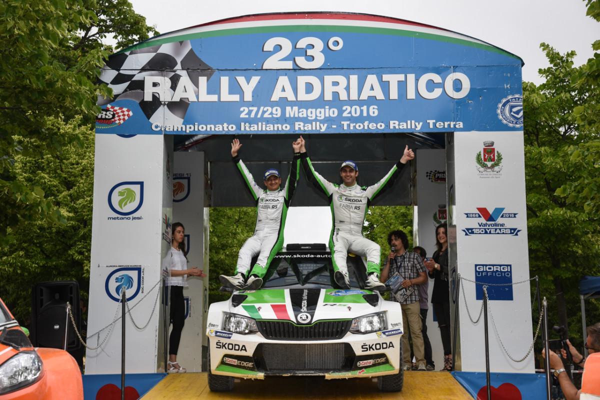 Adriatico: seconda vittoria per ŠKODA Fabia R5