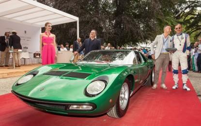La Lamborghini Miura vince il Trofeo BMW Group Italia