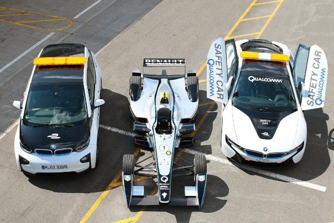 BMW i title sponsor Berlin e-Prix
