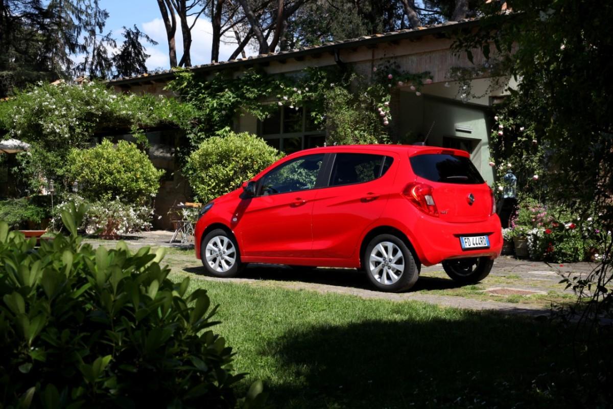 Opel KARL anche in versione GPL Tech