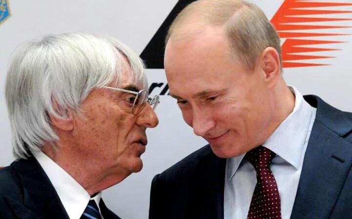 Putin ed Ecclestone grandi assenti dal GP di Russia