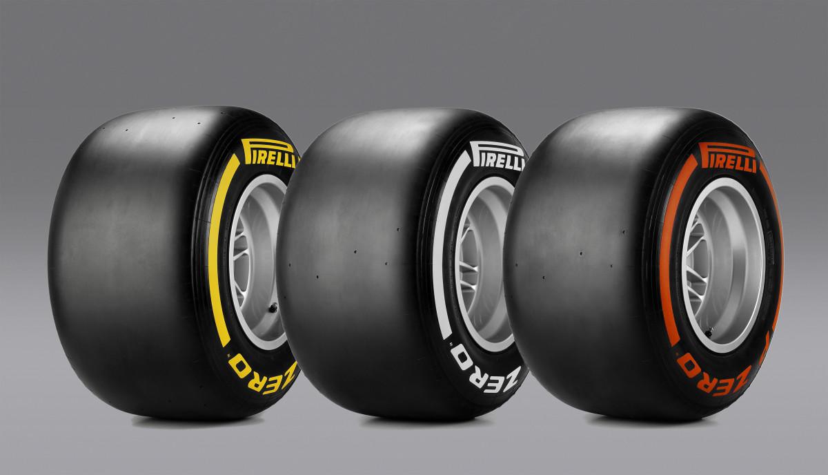 Pirelli: mescole e set per la Gran Bretagna