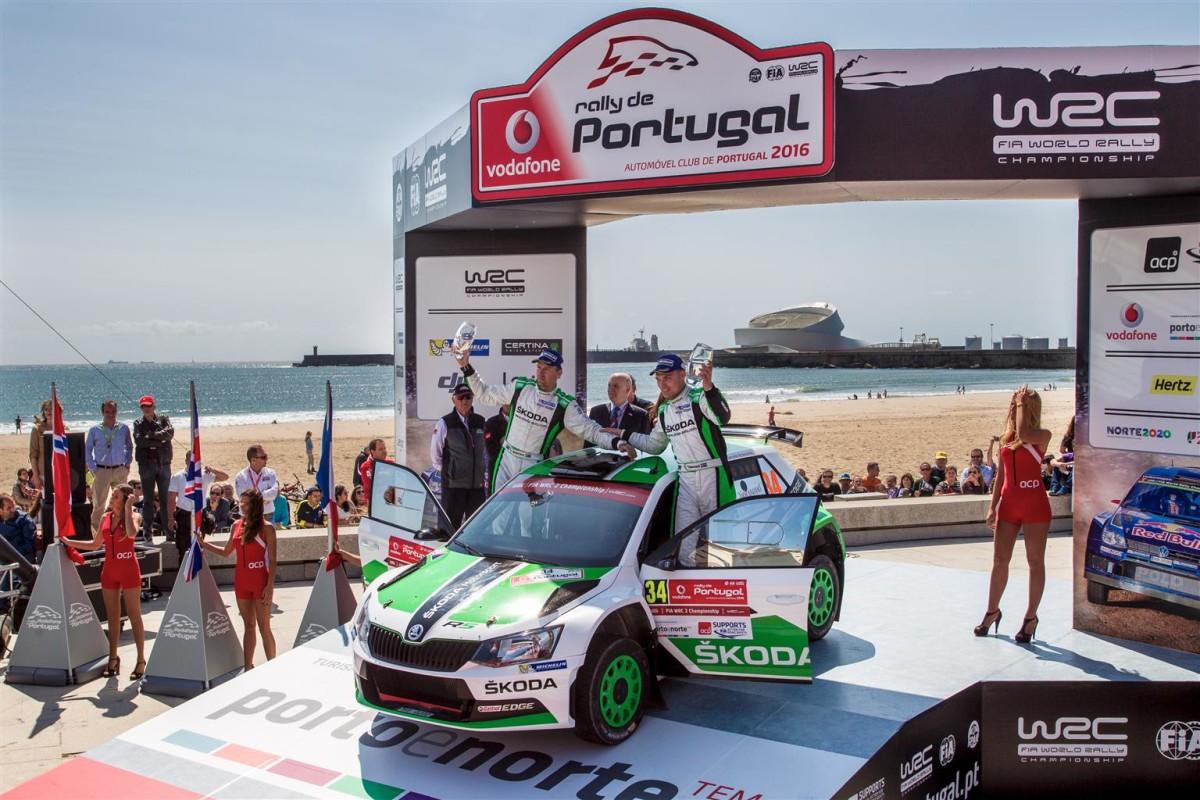 Vittoria ŠKODA al Mondiale Rally in Portogallo