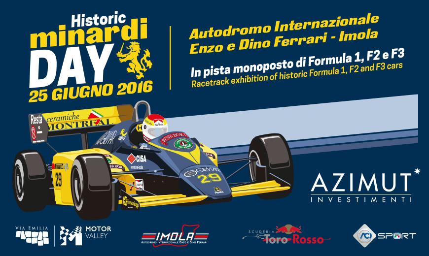 Historic Minardi Day il 25 giugno a Imola