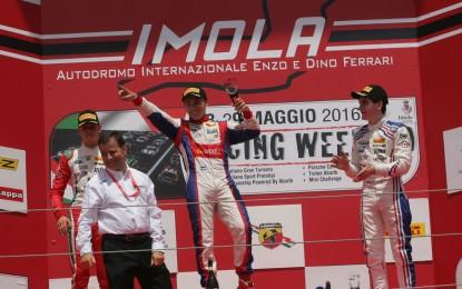 F4: Siebert si aggiudica Gara 1 a Imola