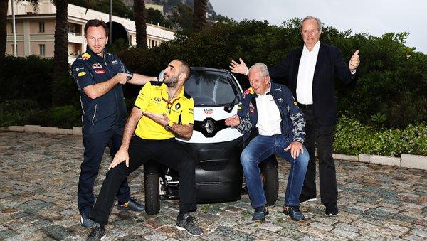 Red Bull e Toro Rosso con Renault nel 2017-2018