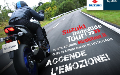 Suzuki DemoRide Tour 2016 in Sicilia