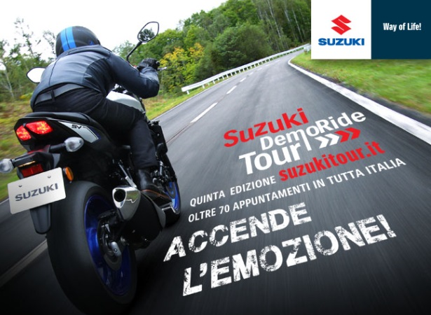 Suzuki DemoRide Tour 2016 in Sicilia