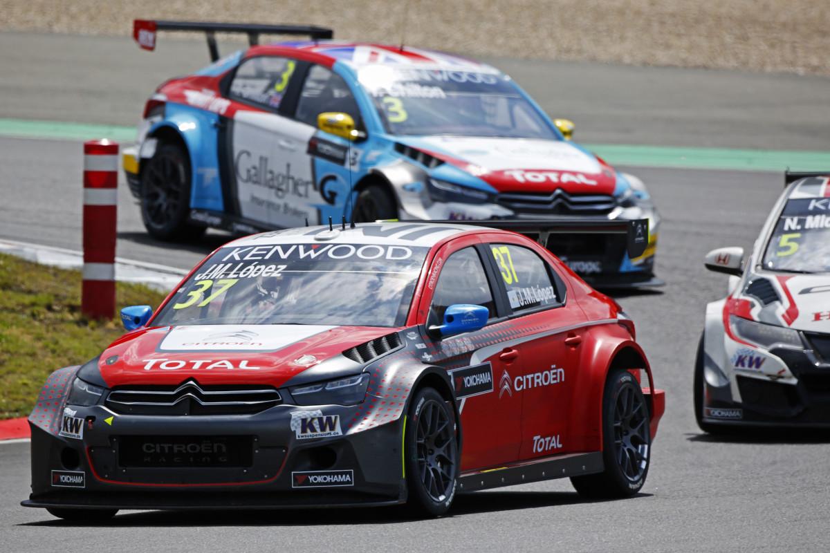 WTCC: doppietta Citroën con López al Nürburgring