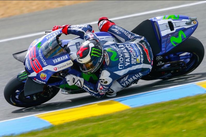 MotoGP: Lorenzo, Rossi e Maverick sul podio di Le Mans