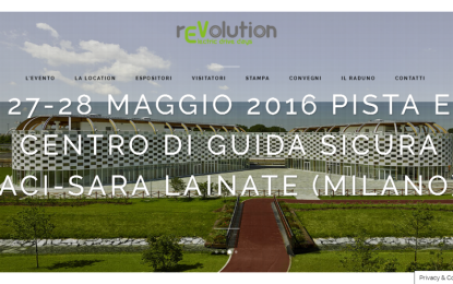 rEVolution-Electric Drive Days al Centro Guida Sicura ACI a Lainate