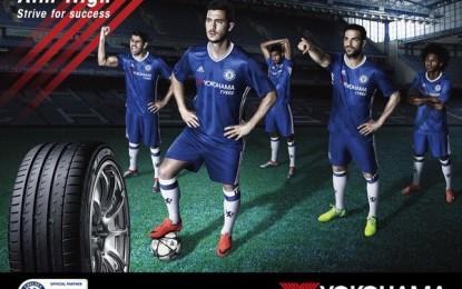 Yokohama svela la nuova maglia del Chelsea