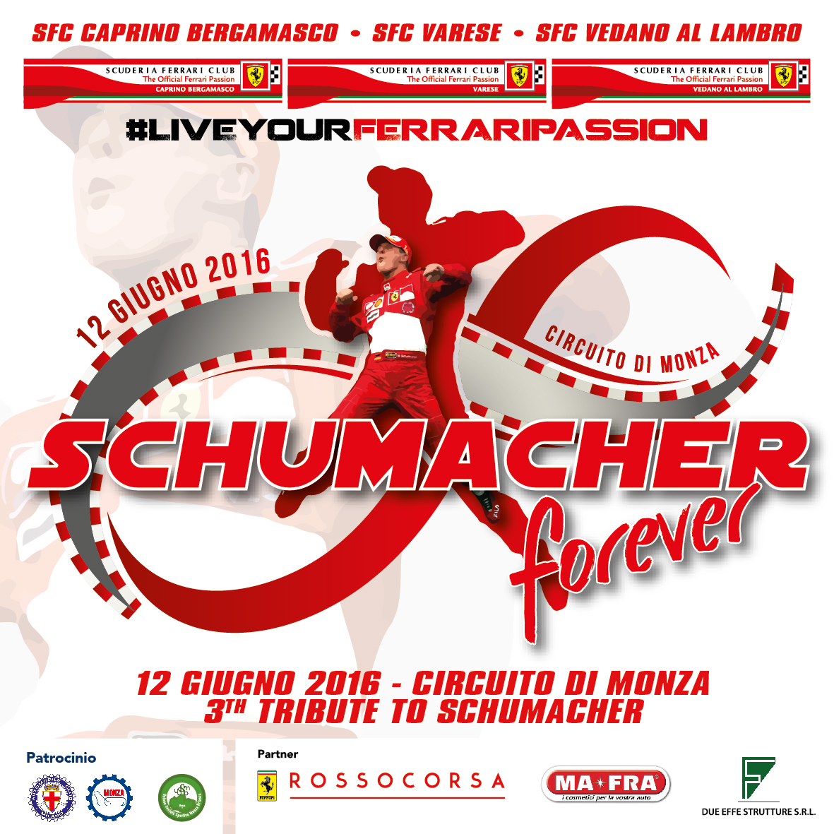 "3° ""Tributo Michael Schumacher & Jules Bianchi"""