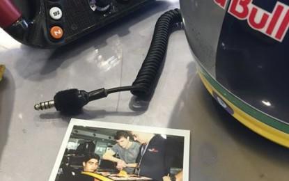 Sette Câmara nei test di Silverstone con la Toro Rosso
