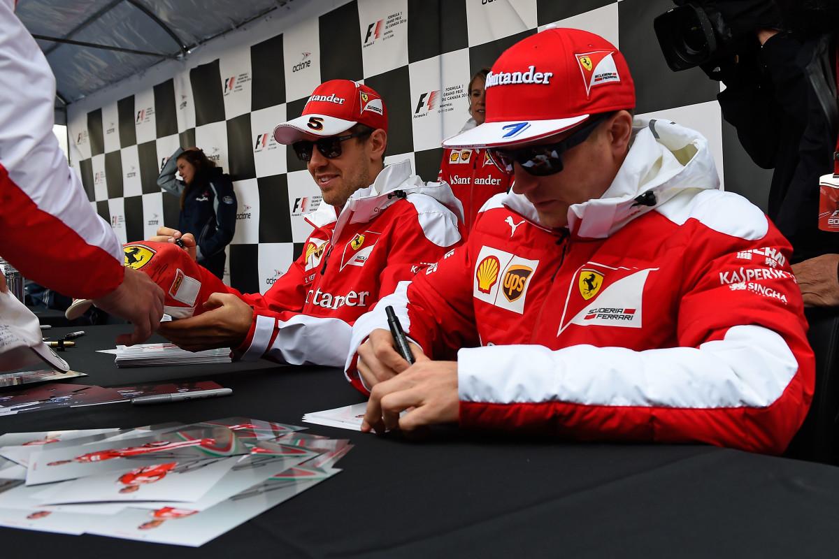 GP Canada: Vettel e Raikkonen uniti nel lavoro