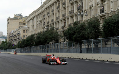 GP Azerbaijan: l'anteprima Pirelli