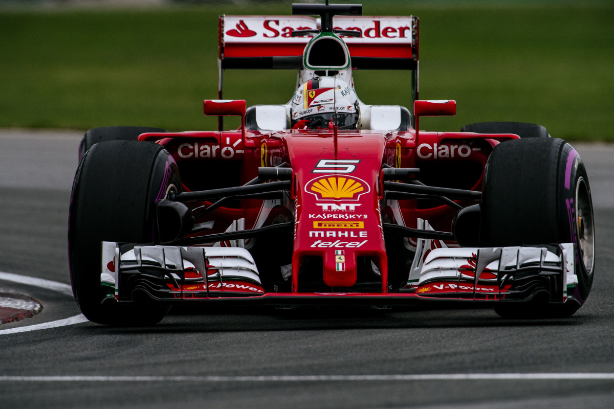 GP Canada: FP3 a Vettel, tra pioggia e incidenti