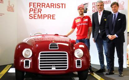"""Vettel e Arrivabene inaugurano """"Ferraristi per sempre"""""""