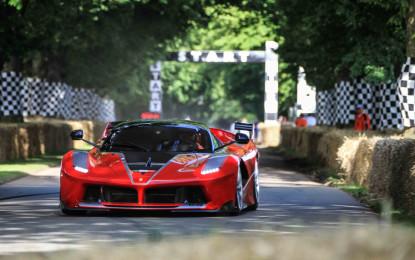 Ferrari conquista il Festival of Speed di Goodwood