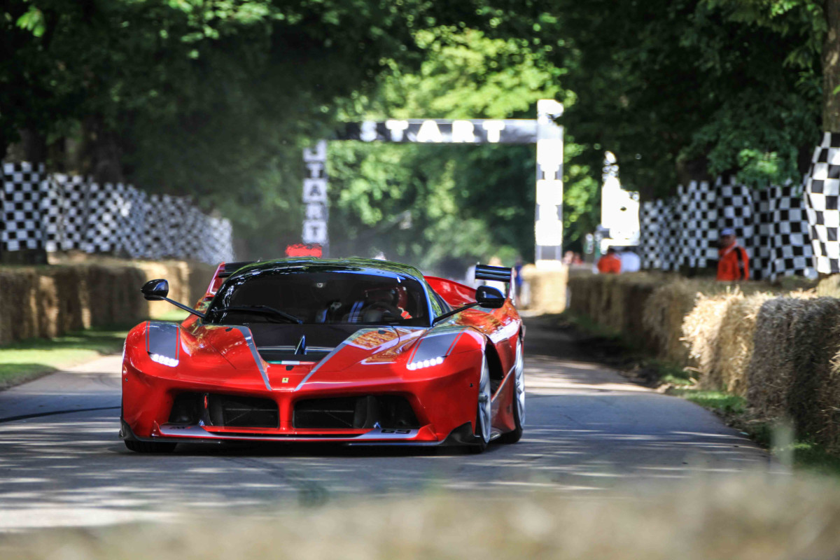 Ferrari conquista il Festival of Speed di Goodwood